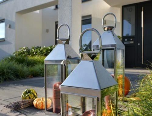 Wieder verfügbar! Unsere home + Edelstahllaternen für Innen & Außen