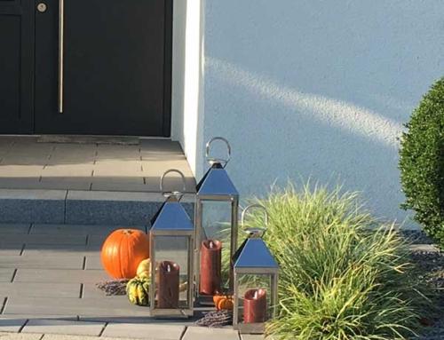 Ab heute bestellbar, die neuen home+ Laternen mit Spitzdach