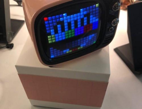 Divoom TIVOO – Bluetooth Lautsprecher mit Smart Pixel-Art